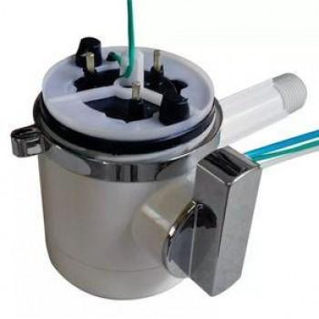Módulo da Torneira Slim Parede Branca ou Preta 4T 220V - Hydra