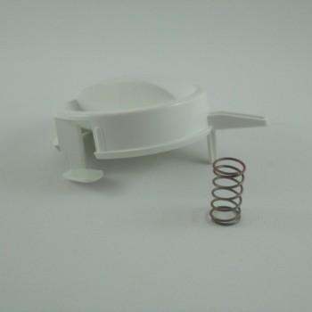 Botão de Temperatura com Mola para Aquecedor Versátil/Ducha Higienica - Lorenzetti
