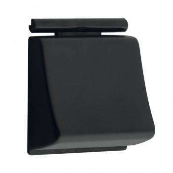 Tecla Reforçada Preta de ABS para Marca Docol - Modelo Clássica