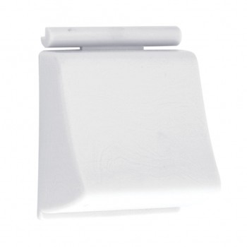 Tecla Reforçada Branca de ABS para Marca Docol - Modelo Clássica