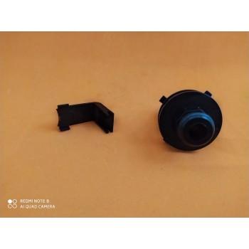 Conjunto Niple 180° Torneira Prima Black - Zagonel